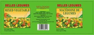 Canned vegetables veder